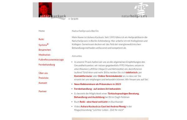Vorschau von www.asharakuckuck.de, Ashara Kuckuck