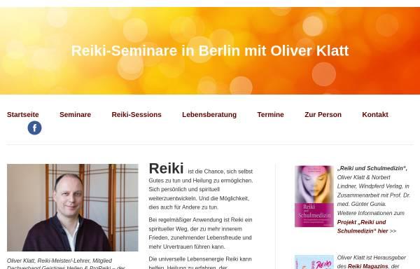 Vorschau von www.einfach-nur-reiki.de, Oliver Klatt