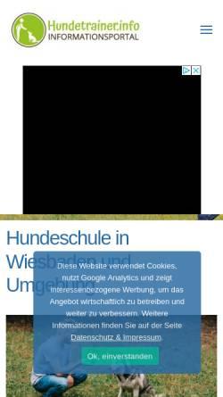 Vorschau der mobilen Webseite www.hundeschule-wi.de, Attentive Dog