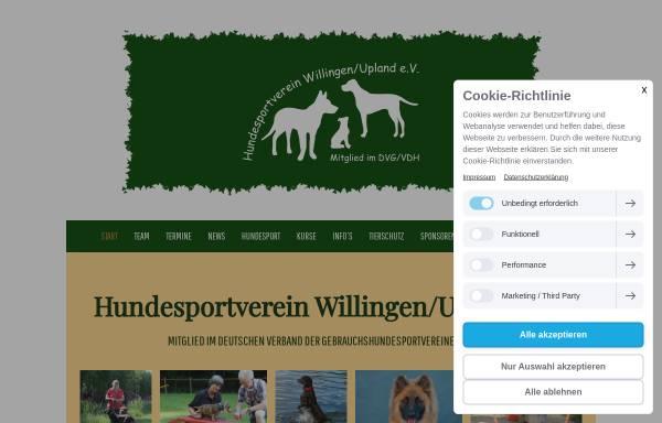 Vorschau von www.hundesportverein-willingen.de, HSV Willingen e.V.