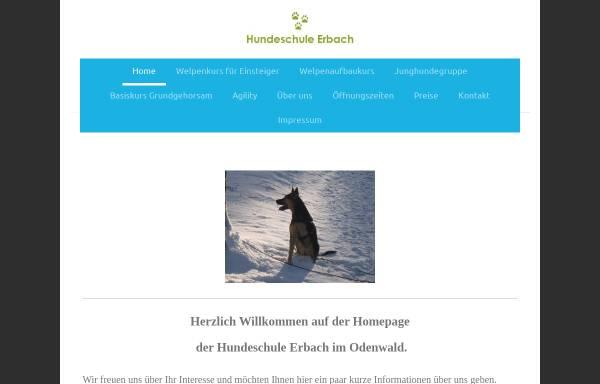 Vorschau von www.hundeschule-erbach.de, Hundeschule Erbach