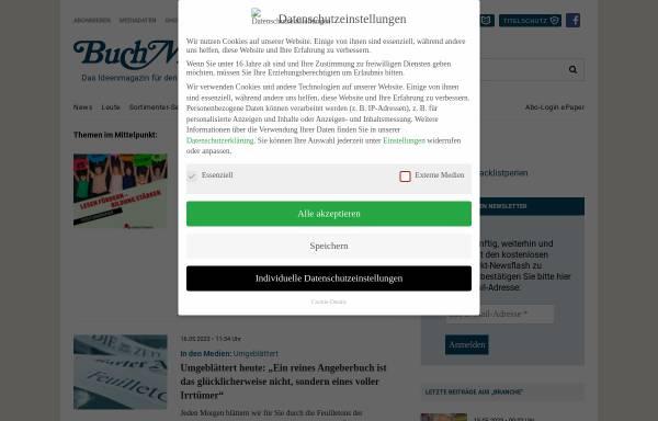 Vorschau von www.buchmarkt.de, BuchMarkt Online
