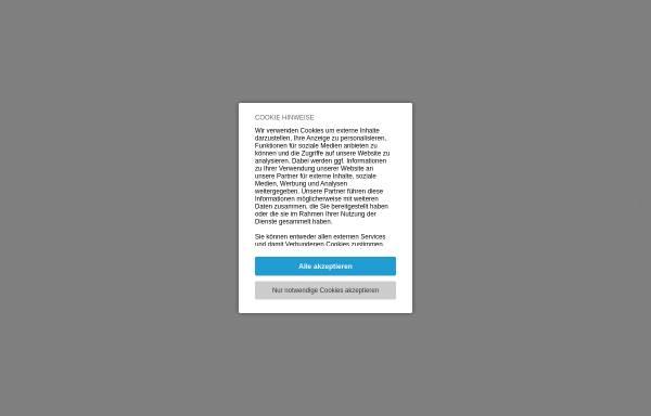 Vorschau von www.blau-weiss.at, Tennisclub Blau-Weiss Wien