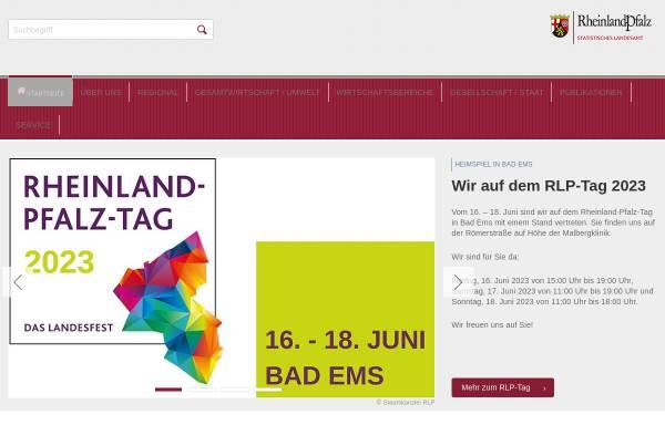 Vorschau von www.statistik.rlp.de, Statistisches Landesamt