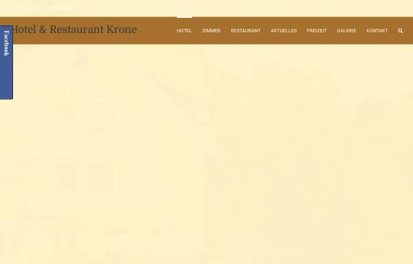 Vorschau von www.hotel-krone-kressbronn.de, Hotel Krone