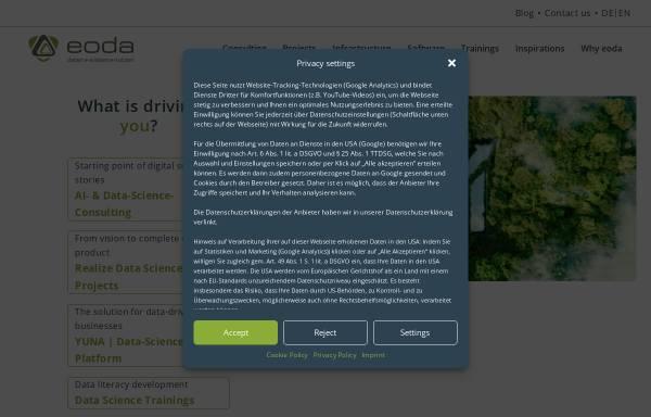 Vorschau von www.eoda.de, Eoda