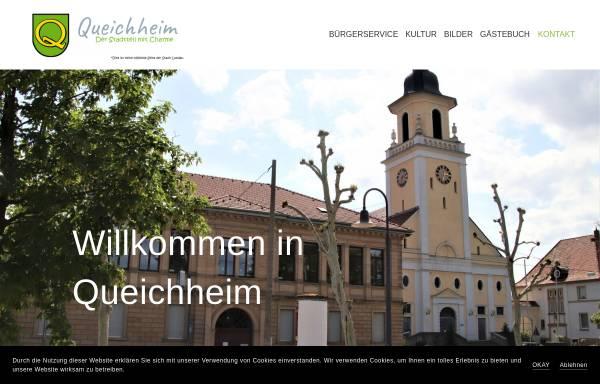 Vorschau von queichheim.de, Queichheim - Stadtteil von Landau in der Pfalz