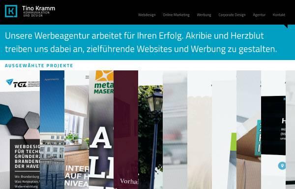 Vorschau von www.tinokramm.de, Tino Kramm Kommunikationsdesign