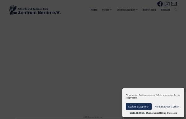 Vorschau von www.abczentrum-berlin.de, ABC Zentrum Berlin e.V.