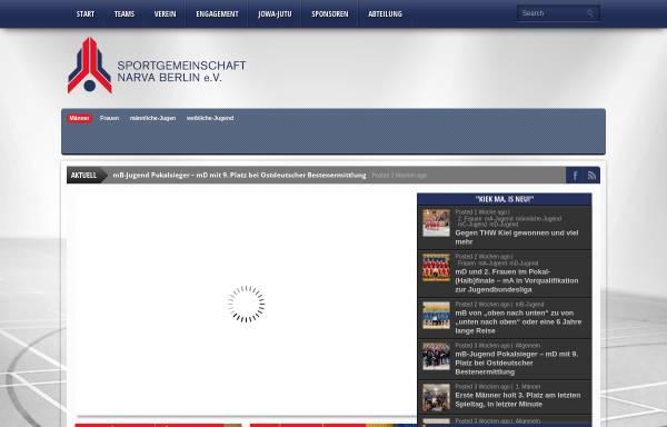 Vorschau von www.sg-narva.de, SG-Narva e.V.