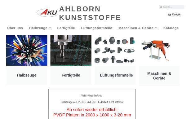Vorschau von www.akuplastics.com, Ahlborn Kunststoffe