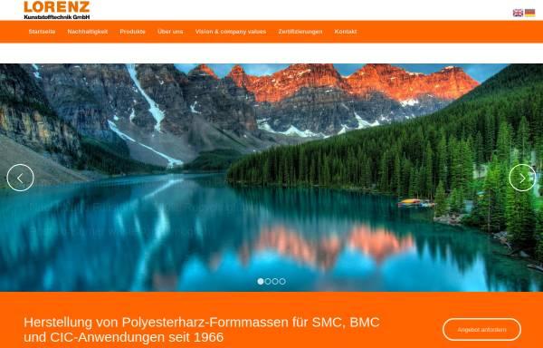 Vorschau von www.lomix.de, Lorenz Kunststofftechnik GmbH