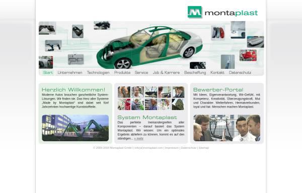 Vorschau von www.montaplast.com, Montaplast GmbH