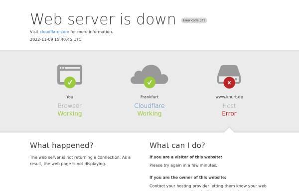 Vorschau von www.knurt.de, Daniel Oltmanns KNURT Systeme