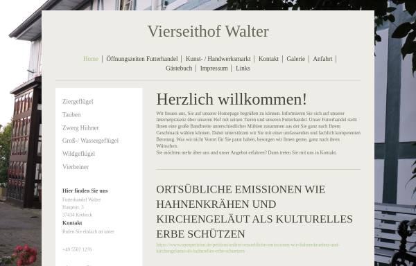 Vorschau von www.vierseithof-walter.de, Vierseitenhof Walter