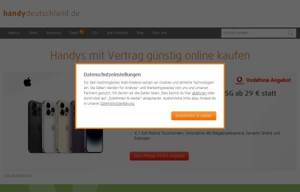 Vorschau von www.handy-deutschland.de, Handy Deutschland