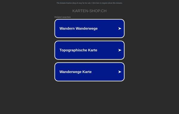 Vorschau von www.karten-shop.ch, Karten-Shop