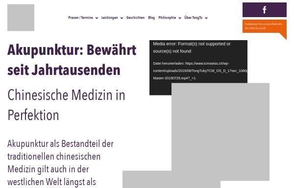 Vorschau von www.tcmswiss.ch, TCMswiss