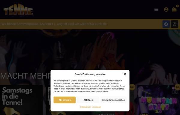 Vorschau von www.tenne-winterberg.de, Tenne