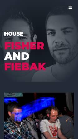 Vorschau der mobilen Webseite www.fisherandfiebak.com, Fisher & Fiebak