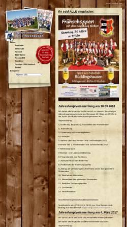 Vorschau der mobilen Webseite www.sst-rueddingshausen.de, Sing-, Spiel- und Trachtengruppe Rüddingshausen