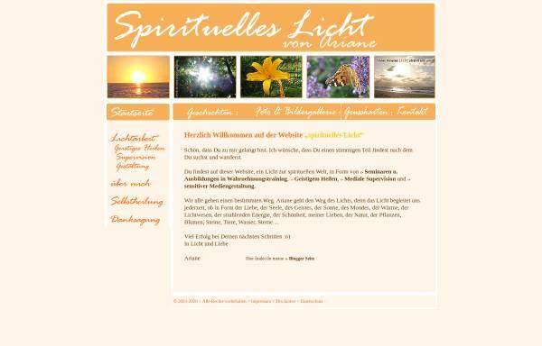 Vorschau von www.spirituelles-licht.de, Spirituelles Licht