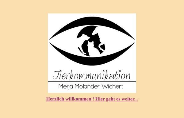 Vorschau von www.merjamolanderwichert.de, Merja Molander-Wichert
