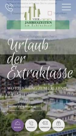 Vorschau der mobilen Webseite www.vjz.de, Vier Jahreszeiten