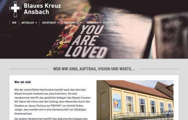 Vorschau von blaues-kreuz-ansbach.de, Blaues Kreuz Ansbach e. V.