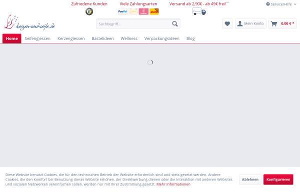 Kerzen-und-seife.de, Tanja Schulz: Körperreinigung, Schönheit kerzen ...