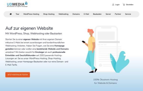 Vorschau von www.udmedia.de, UD Media GmbH