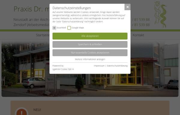 Vorschau von www.arbeitsmedizin-fichtner.de, Fichtner, Dr. med. Erik