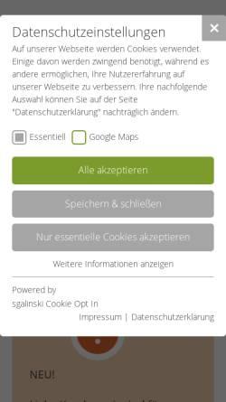 Vorschau der mobilen Webseite www.arbeitsmedizin-fichtner.de, Fichtner, Dr. med. Erik