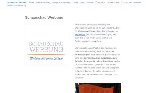 Vorschau von www.schauschau-werbung.de, Schauschau Werbung Inh. Wolfgang Schröpfer