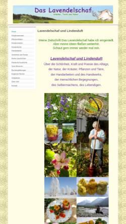 Vorschau der mobilen Webseite www.lavendelschaf.de, Das Lavendelschaf
