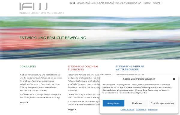 Vorschau von www.i-f-w.de, Institut für Fort- und Weiterbildung München