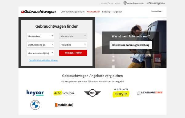 Vorschau von www.gebrauchtwagen.de, Gebrauchtwagen.de