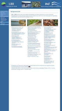 Vorschau der mobilen Webseite www.gewaesserfragen.de, LBH Limnologie-Büro Hoehn, Inh. Dipl.-Biol. Eberhard Hoehn und BNÖ Büro für Nutzung und Ökologie der Binnengewässer, Inh. Dipl.-Biol. Ursula Riedmüller und Dipl.-Biol. Roland Höfer