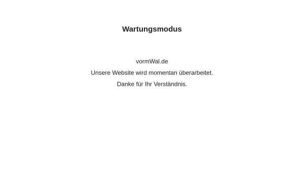 Vorschau von www.vormwal.de, vormWalde Unternehmensberatung