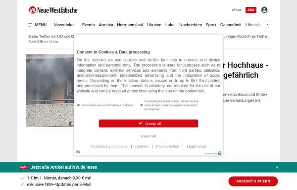 Vorschau von www.nw-news.de, Neue Westfälische