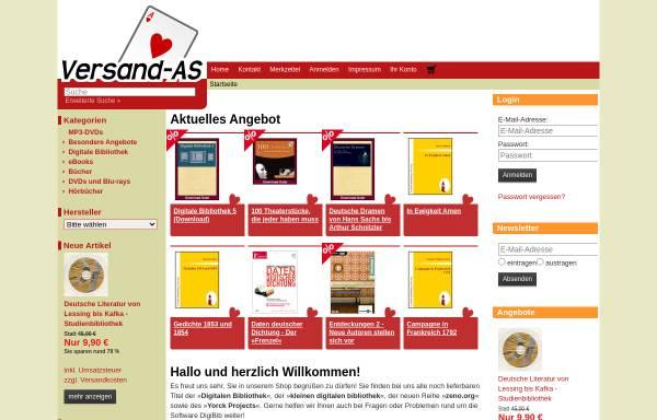 Vorschau von www.digitale-bibliothek.de, Digitale Bibliothek