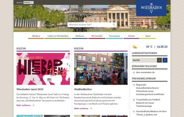 Vorschau von www.wiesbaden.de, Landeshauptstadt Wiesbaden