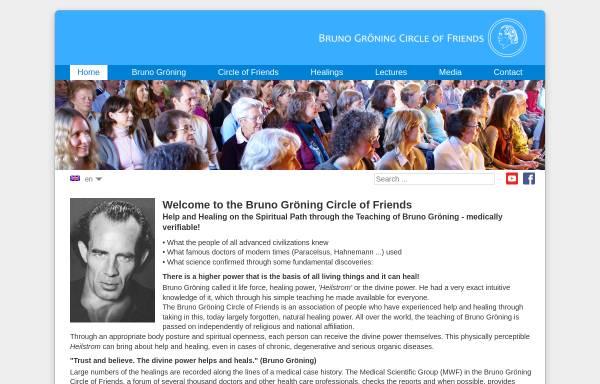 Vorschau von www.bruno-groening.org, Bruno Gröning-Freundeskreis