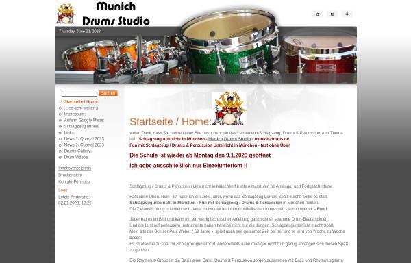 Vorschau von munich-drums.de, Munich Drums
