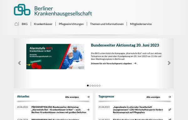 Vorschau von www.bkgev.de, Berliner Krankenhausgesellschaft e.V.