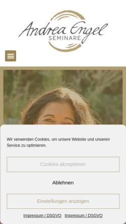 Vorschau der mobilen Webseite www.unsereseminare.de, Andreas Franz Himmelstoß und Andrea Engel-Himmelstoß