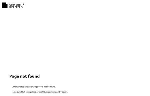 Vorschau von www.uni-bielefeld.de, Journal für Konflikt- und Gewaltforschung