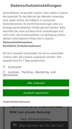 Vorschau der mobilen Webseite www.aktiv-vermittlung.de, Aktiv Vermittlungs-Gesellschaft GmbH