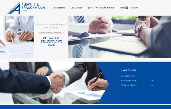 Vorschau von www.versicherung-plewnia.de, Assekuranzmakler Plewnia & Brauckmann GmbH