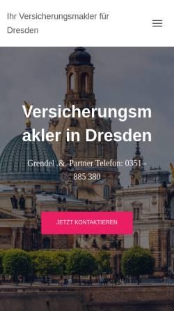 Vorschau der mobilen Webseite www.gup24.de, Grendel .&. Partner